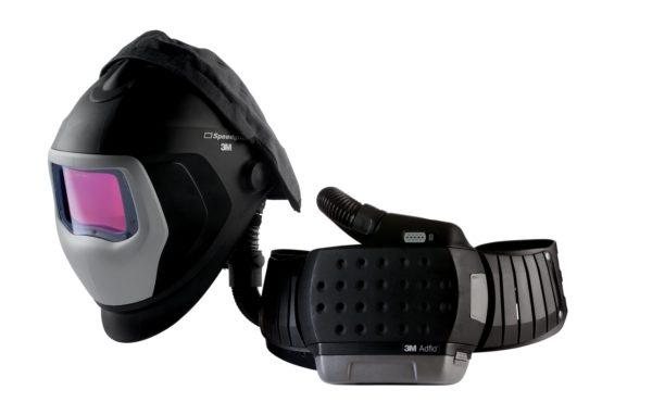 Adflo Papr 35 1101 30isw With Speedglas 9100 Air Welding Helmet.jpg